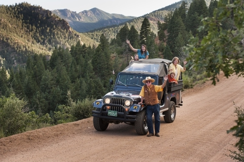 foothills jeep tour - Cheyenne Canyon Colorado Springs